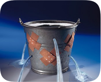 A leaking bucket - small steps to help you plug the holes of chronic pain